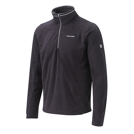Craghoppers - Black Corey III Half-Zip Fleece