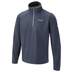 Craghoppers - Windsor blue corey iii half zip fleece