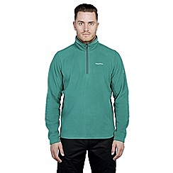 Craghoppers - Alpine green corey iii half-zip fleece