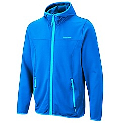 Craghoppers - Strong blue ionic hooded jacket