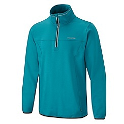 Craghoppers - Deep sea green ionic half zip