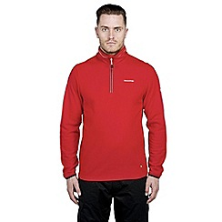 Craghoppers - Red ionic half-zip fleece