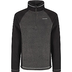 Craghoppers - Blk pepper/blk union half zip
