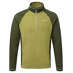 Craghoppers - Olive/dark moss Union half zip fleece