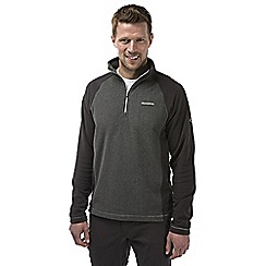 Craghoppers - Black pepper/black Union half zip fleece