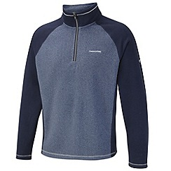 Craghoppers - Light royal navy union half-zip fleece