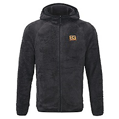 Bear Grylls - Black pepper bear core fluffy fleece jacket
