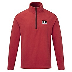 Bear Grylls - Bear red bear core half-zip fleece