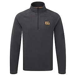 Bear Grylls - Black pepper bear core half-zip fleece
