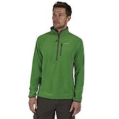 Craghoppers - Bright green jasper half-zip fleece