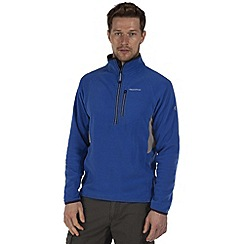 Craghoppers - Imperial blue jasper half-zip fleece
