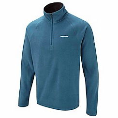 Craghoppers - Dark ocean basecamp half-zip ii fleece