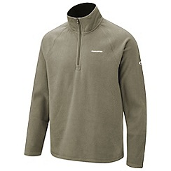Craghoppers - Dusky green basecamp half-zip ii fleece