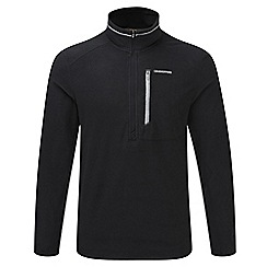 Craghoppers - Black Pro lite half zip fleece