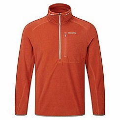 Craghoppers - Burnt orange pro lite half zip fleece