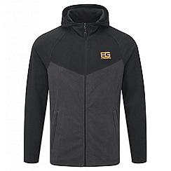 Bear Grylls - Black pepper bear core microfleece hooded jacket
