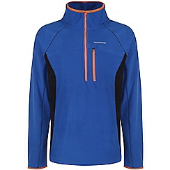Craghoppers - Cobalt/dark navy crathorne pro series half-zip fleece