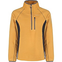 Craghoppers - Mustard/blkpepper crathorne pro series half-zip fleece
