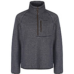 Craghoppers - Soft navy marl swainby half-zip fleece