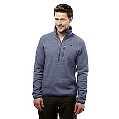 Craghoppers - Dusk blue marl swainby half-zip fleece