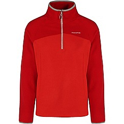 Craghoppers - Dynamite/chilli ionic ii half-zip fleece