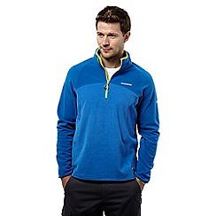 Craghoppers - Sport blue ionic ii half-zip fleece