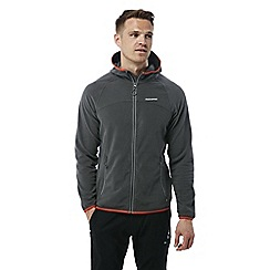 Craghoppers - Dark grey Ionic ii hooded fleece jacket