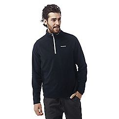 Craghoppers - Dark navy Selby half zip microfleece