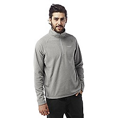 Craghoppers - Quarry grey marl Selby half zip microfleece