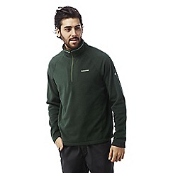 Craghoppers - Asteroid green Selby half zip microfleece