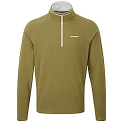 Craghoppers - Light olive Selby half zip microfleece