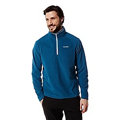 Craghoppers - Deep blue Selby half zip fleece