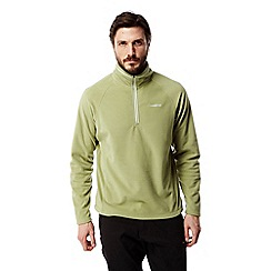 Craghoppers - Soft khaki Selby half zip fleece