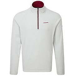 Craghoppers - Light grey selby half zip microfleece