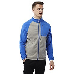 Craghoppers - Grey/sport blue Salisbury lightweight fleece jacket