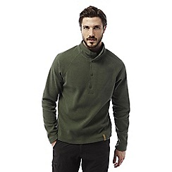 Craghoppers - Parka green Reston half button insulating fleece