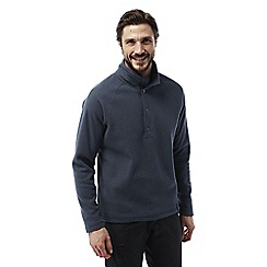 Craghoppers - Storm navy Reston half button insulating fleece