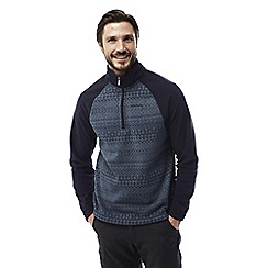 Craghoppers - Storm navy Elliston zip neck jumper