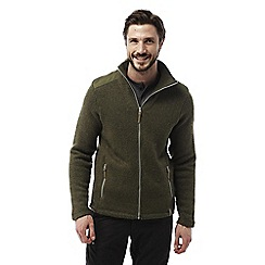 Craghoppers - Dark moss Caledon insulating fleece jacket