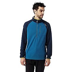 Craghoppers - Deep blue Salisbury lightweight half zip fleece