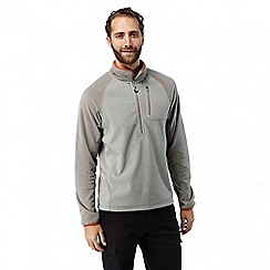 Craghoppers - Soft grey marl Salisbury lightweight half zip fleece