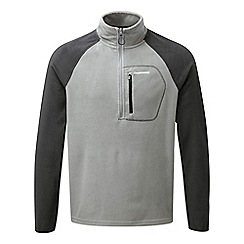 Craghoppers - Quarry grey C65 half zip lightweight fleece