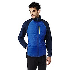 Craghoppers - Deep blue C65 lightweight hybrid fleece jacket