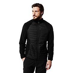 Craghoppers - Black C65 lightweight hybrid fleece jacket