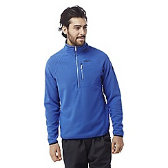 Craghoppers - Deep china blue Liston half zip insulating fleece