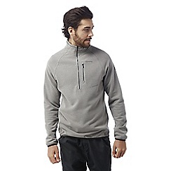 Craghoppers - Quarry grey Liston half zip insulating fleece