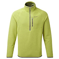 Craghoppers - Spiced lime Liston half zip insulating fleece