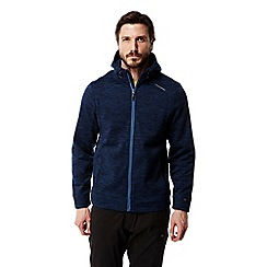 Craghoppers - Deep blue vector insulating hooded jacket
