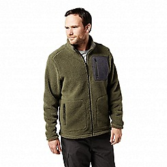 Craghoppers - Green 'Edvin' mountain style fleece jacket