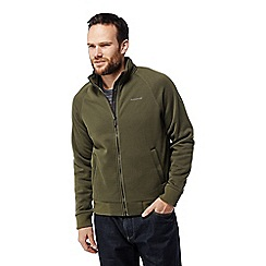 Craghoppers - Green 'Henrik' insulating fleece jacket